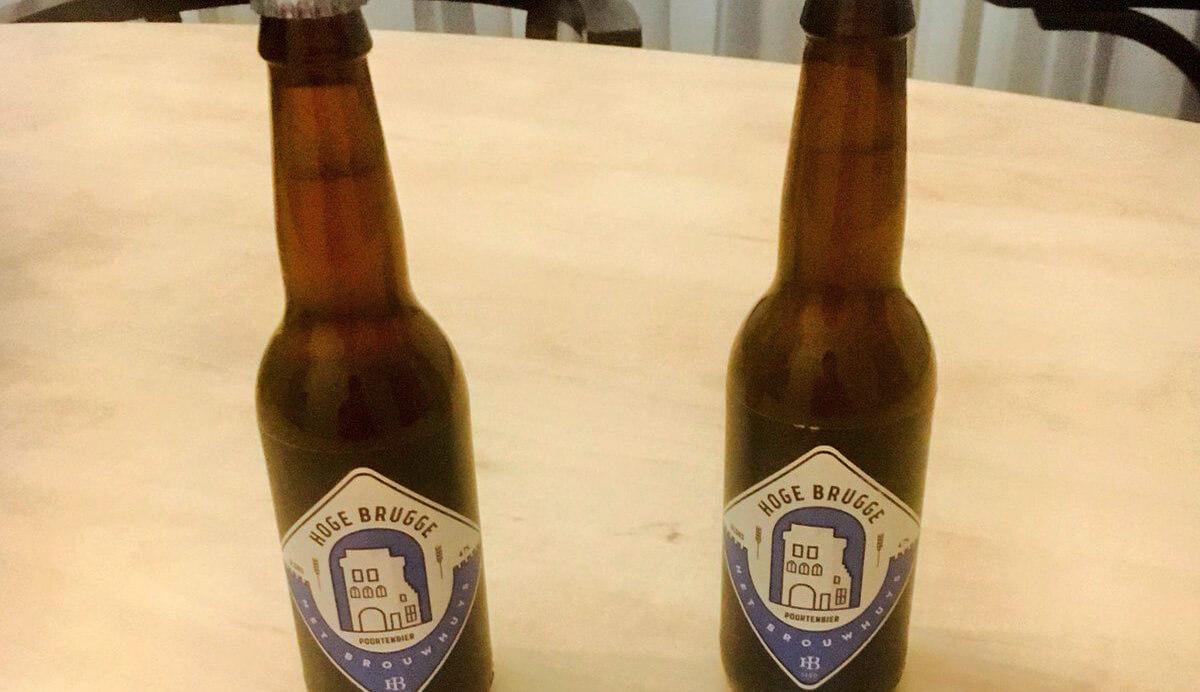 Bier in plaats van water