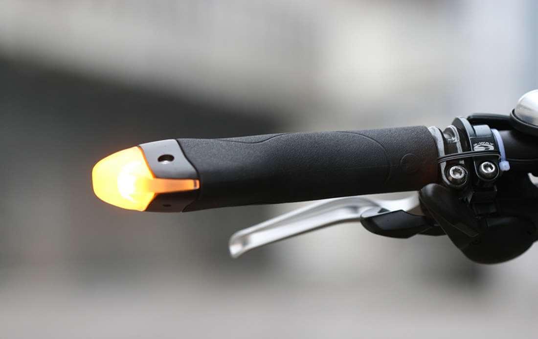 Blinker Grips: gadget voor op de fiets!