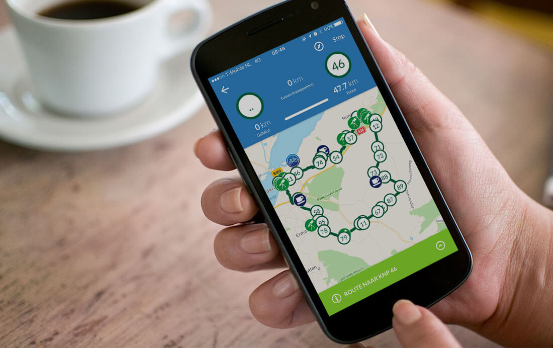 De veiligste fiets App van Nederland