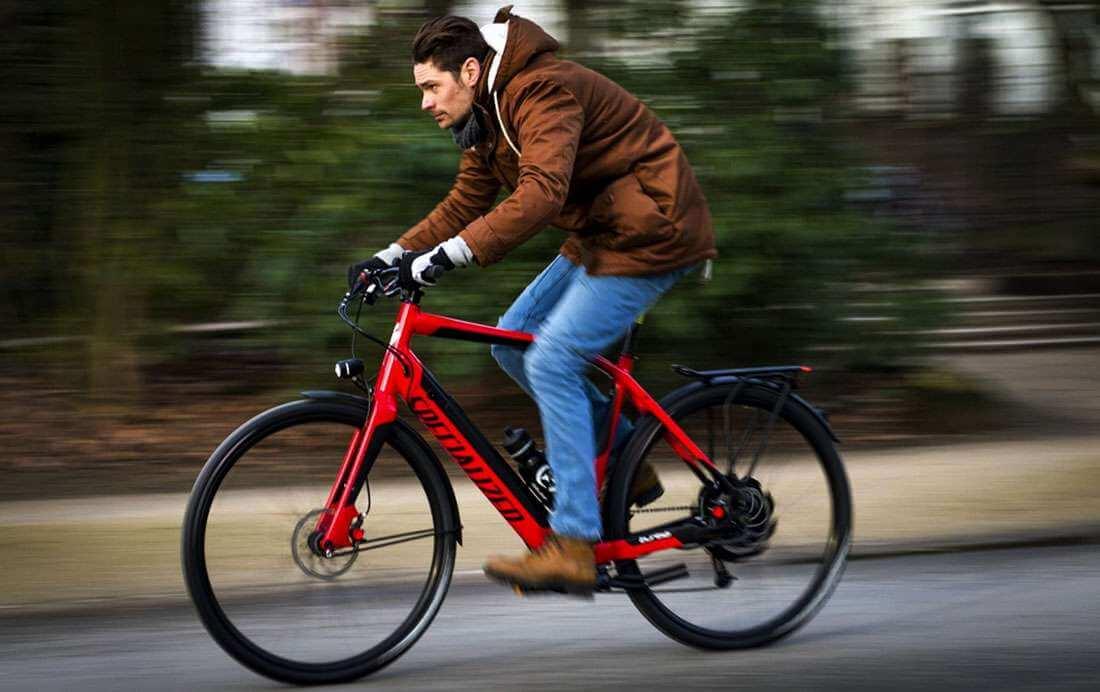 Een helm dragen op uw fietsroute?