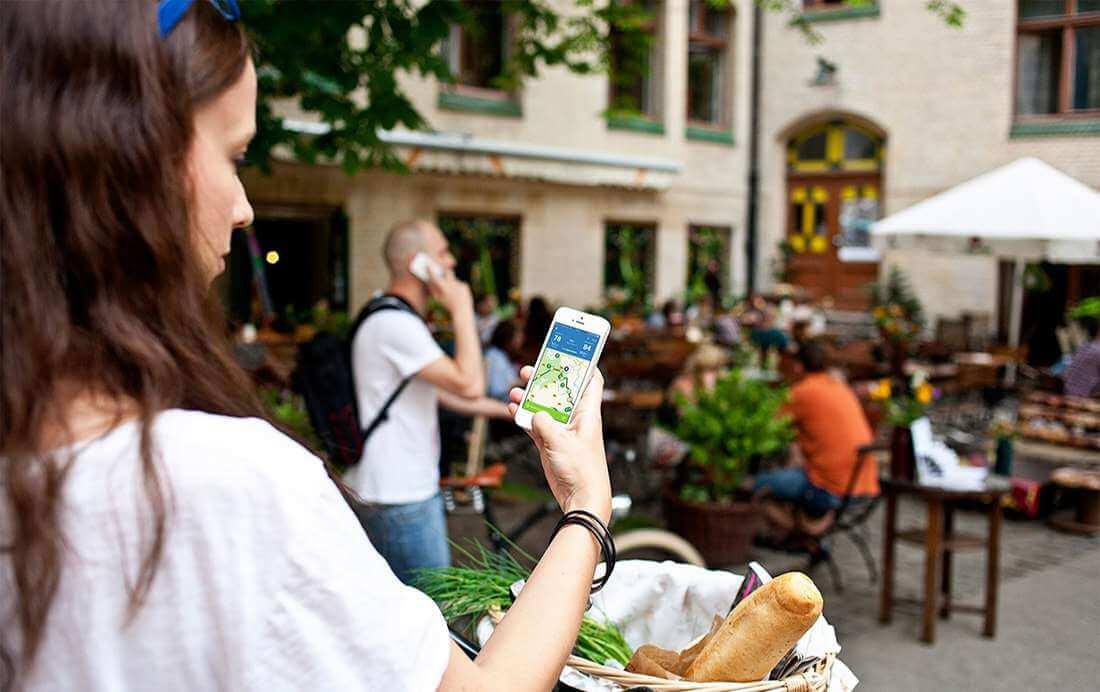 Fietsroute app biedt fietsers unieke ervaring