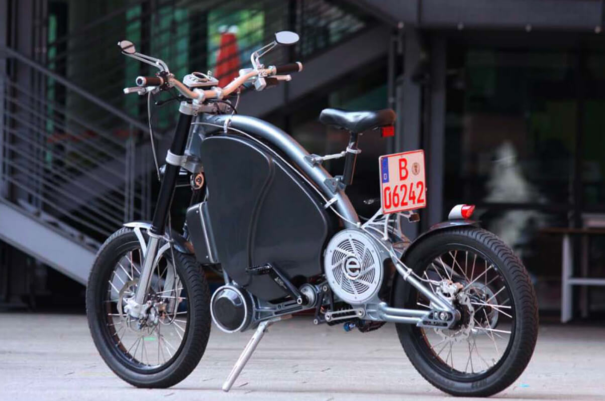Ultrasnelle elektrische fiets