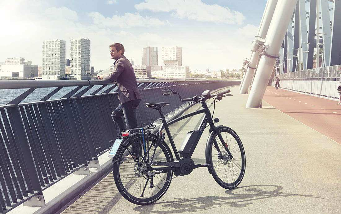 Steeds meer jongeren op de elektrische fiets