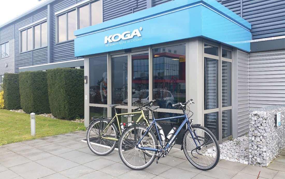 Fietstest Fietsnetwerk.nl | Koga World Traveller S