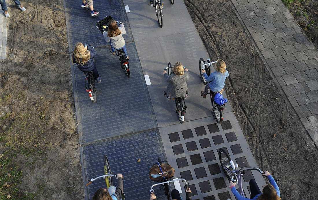 Laad je elektrische fiets op met zonne-energie