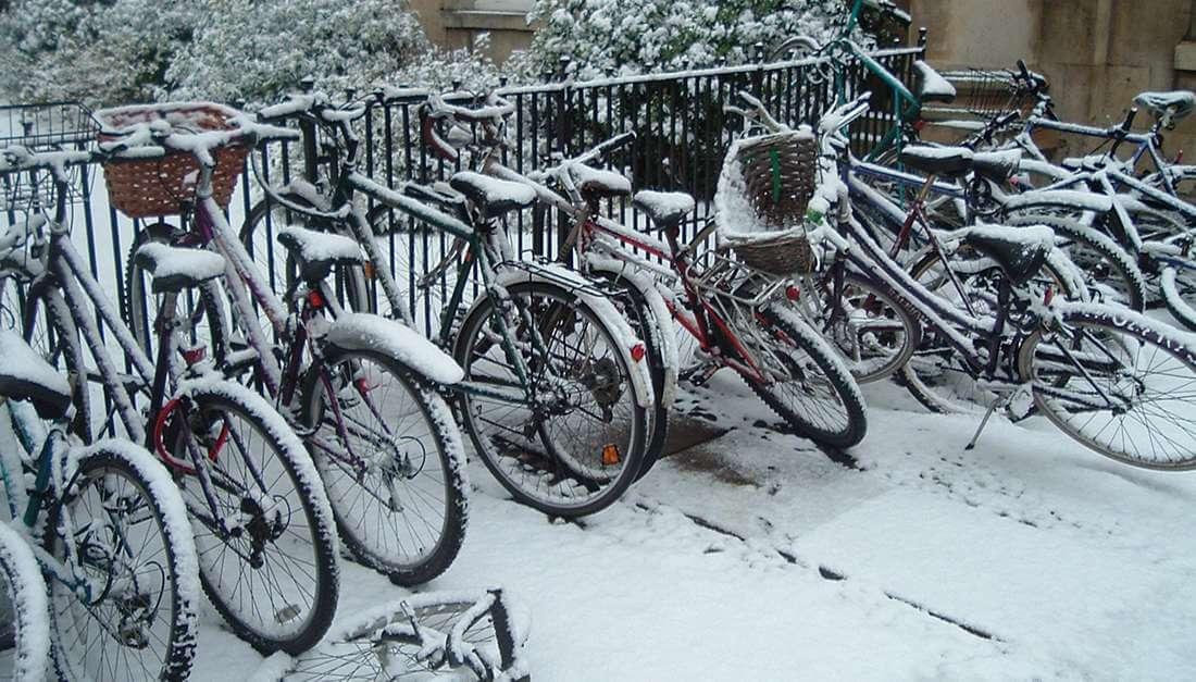 Zeven redenen om te fietsen in de winter