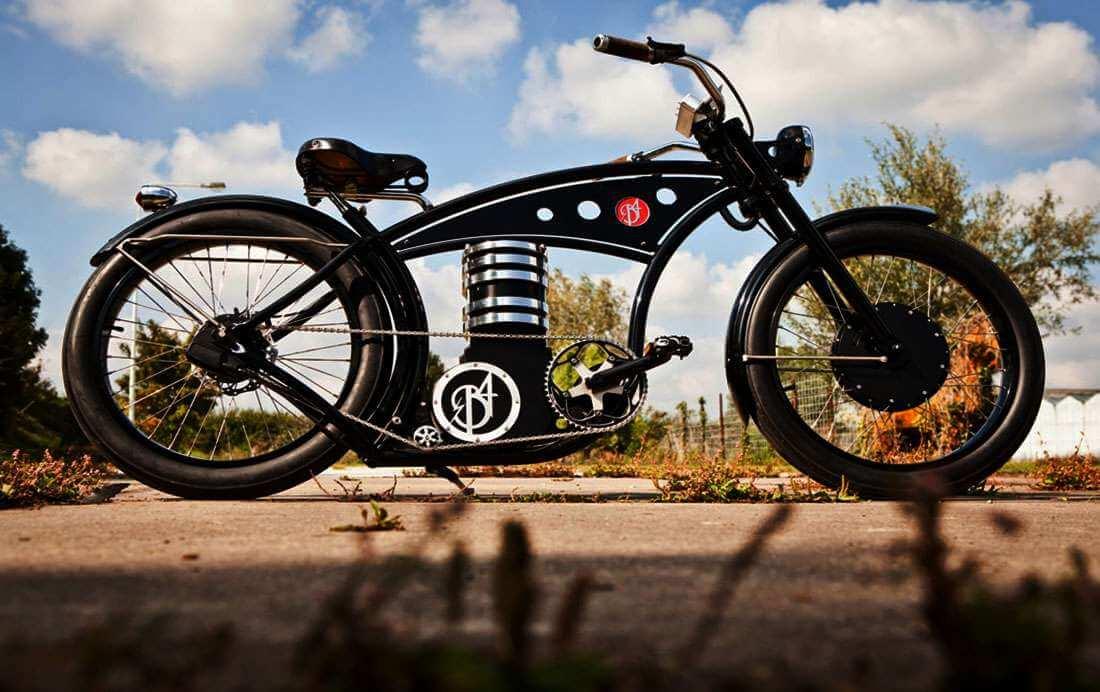 B4 Bike: Een Harley zonder benzinemotor