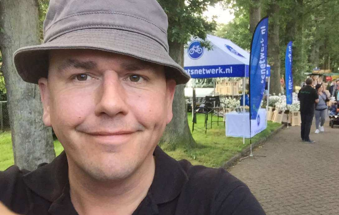 De mensen achter Fietsnetwerk.nl: Wouter Terpstra